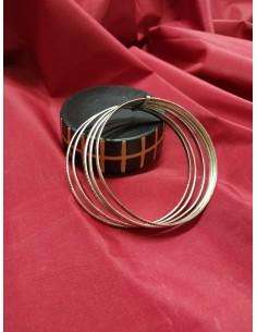 Braccialetto in argento 5 cerchi